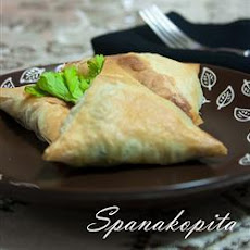 Cheese and Spinach Pie (Spanakopita)