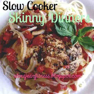 Skinny Dinners - Slow Cooker Balsamic Chicken