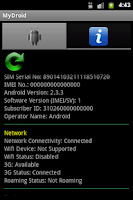 Screenshot of MyDroid - My Phone Information