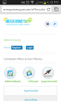 Screenshot of Mega Money App (Earn Credits)