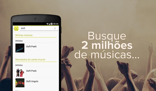 App Letras.mus.br APK for Windows Phone