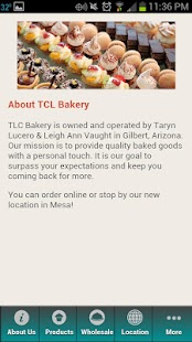 TLC Bakery - screenshot