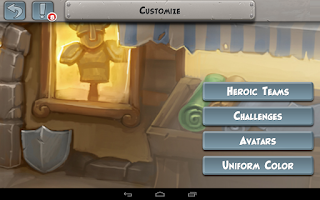 Screenshot of Hero Academy