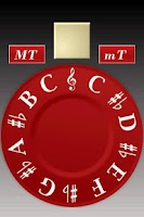 Screenshot of Chromatic Pitch Pipe (free)