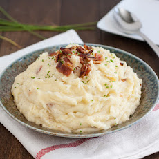 Brown Butter and Bacon Mashed Potatoes