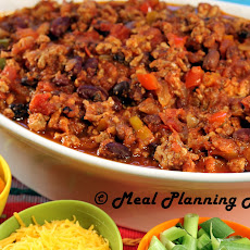 Confetti Turkey Chili