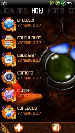 玩個人化App|蝴蝶主題為ssLauncher免費|APP試玩