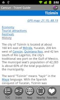 Screenshot of Cancun & Yucatan- Travel Guide