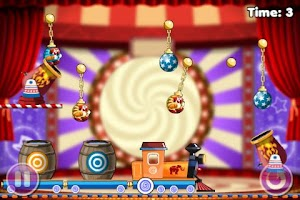 Screenshot of Puzzle Game - Cut the clowns 2