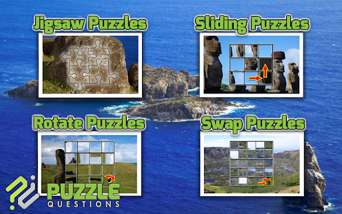Easter Island Puzzle Games - screenshot
