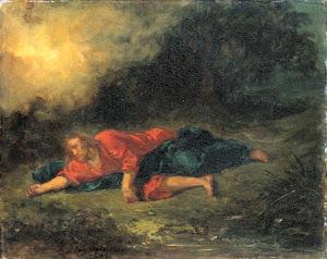 RIJKS: Eugène Delacroix: painting 1861