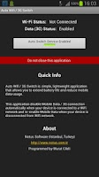 Screenshot of Auto WiFi / 3G Switch