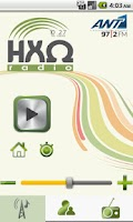 Screenshot of HXW Radio