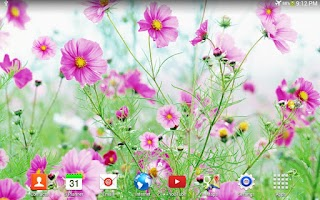 Screenshot of Sweet Flowers Live Wallpaper