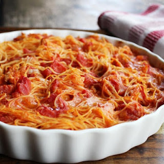 Chicken Spaghetti Pie