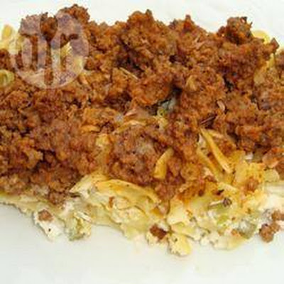 Alternatieve Lasagne Ovenschotel
