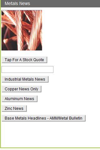 Metals News