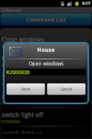 Screenshot of GSM Droid