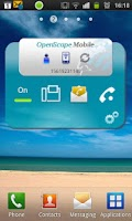 Screenshot of OpenScape Mobile