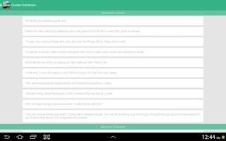 Screenshot of Motivational Quotes
