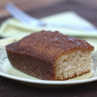 Cinnamon Toast Cake (Gluten Free directions are below)
