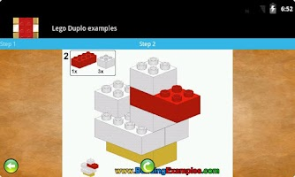 Screenshot of Lego Duplo examples