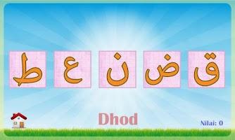 Screenshot of Belajar Huruf Hijaiyah