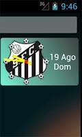 Screenshot of Santos app não oficial