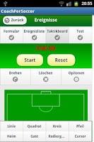 Screenshot of Soccer Coach