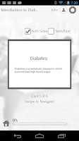 Screenshot of Learn Diabetes