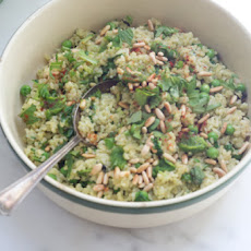 Green Rice with Smoked Paprika