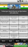 Screenshot of Talk Hindi (Free)