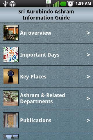 Ashram Information Guide