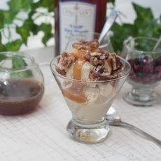Pecan Pie Ice Cream Sundae
