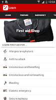 Screenshot of First Aid by Swiss Red Cross