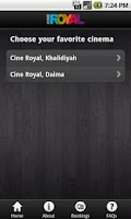 Screenshot of Cine Royal