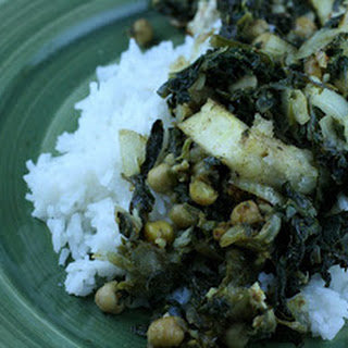 Indian Spinach and Tofu CrockPot