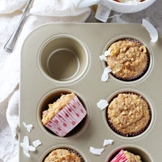 Whole Grain Morning Glory Muffins