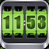 APK App 3D Rolling Clock GREEN for iOS