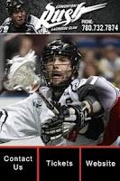 Screenshot of Edmonton Rush Lacrosse Club