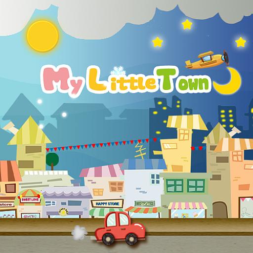My Little Town Live wallpaper