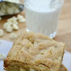 Platinum Blondies (and do-it-yourself brown sugar)