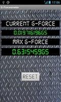 Screenshot of G-Forceometer