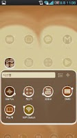 Screenshot of Coffee cup Go Adw Theme Lite