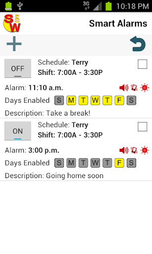 Shift Worker Pro - screenshot