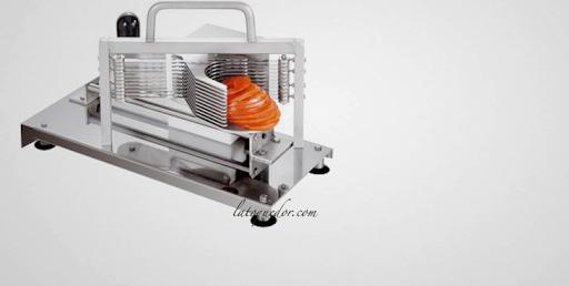 Acheter poussoir saucisse professionnel inox vertical - Coupe tomate professionnel ...