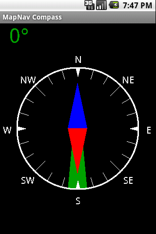 MapNav Compass