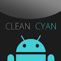 GO SMS Clean Cyan Theme icon
