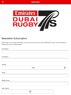 Emirates Airline Dubai Rugby7s - screenshot