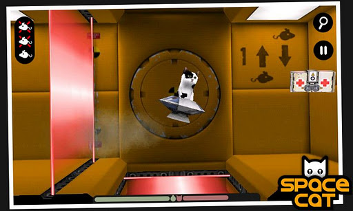 spacecat-3d for android screenshot
